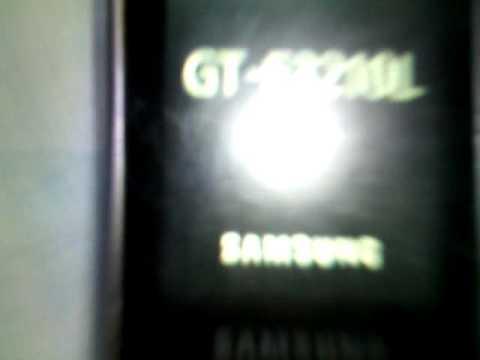 Read description! - How to delete phone lock Samsung E3210L