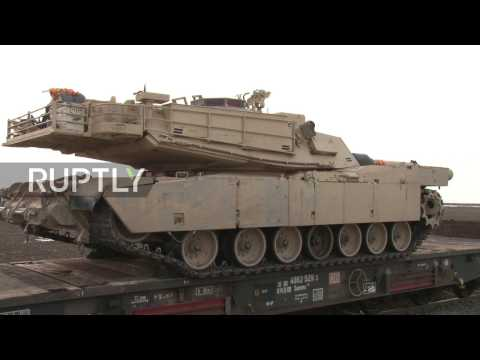 Romania: US troops and tanks arrive in Romania to bolster country's defence