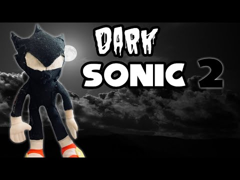 Sonic Plush Adventures - Dark Sonic 2