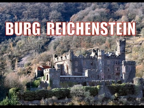 HAUNTED CASTLE ON THE RHINE RIVER GERMANY (Burg Reichenstein) - October 11, 2014 - usaaffamily vlog