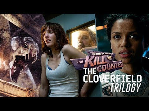 THE CLOVERFIELD TRILOGY - The Kill Counter, sci-fi movie franchise
