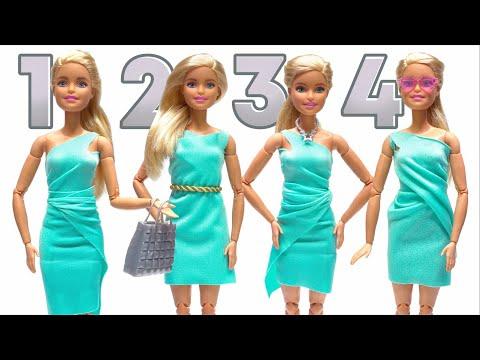 Как сшить для куклы платье из носка для куклы