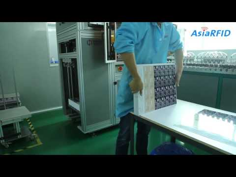 Automatic Rushed Card Equipment With Advanced RFID Technology