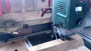 Bosch PBD40 Digital Drill Press in action! - Sunday Shop Update