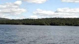 INDIAN LAKE, NY 2009 Canoe & Camping: ADIRONDACK Mountain & Water Scenery