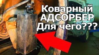 Коварный адсорбер на Рено,при чем тут топливный бак, щелчки клапана.   Видеолекция#2
