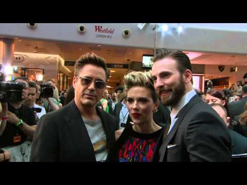 Marvel's Avengers: Age of Ultron: Europe Premiere Arrivals & Fan Interaction 2