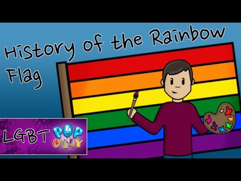 History Of The Rainbow Flag For Kids