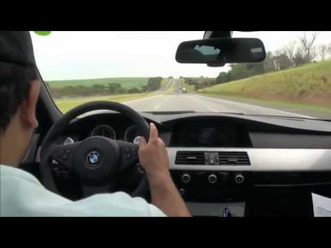 BMW M5 Super Crazy Driving 350 Km/h
