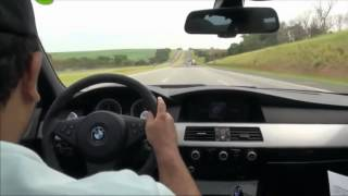 BMW M5 Super Crazy Driving 350 km/h