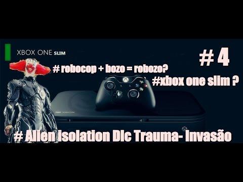 XBOX ONE SLIM !  Alien isolation  game play dlc trauma #4 + Noticias gamer; Xbox one slim RUMORES !