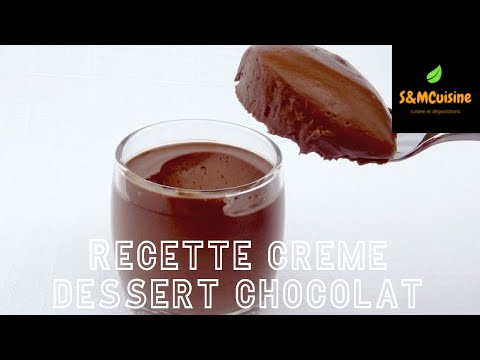 s&mcuisine---recette-de-creme-dessert-au-chocolat-!-وصفة-كريمة-حلوى-الشوكولاتة