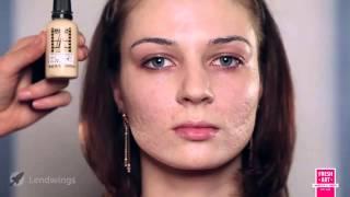 Вечерний макияж на проблемной коже. Урок №8
