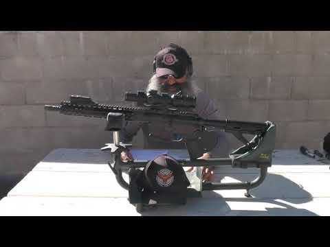 US Optics SVS 1-6X  Review & Shooting Impressions