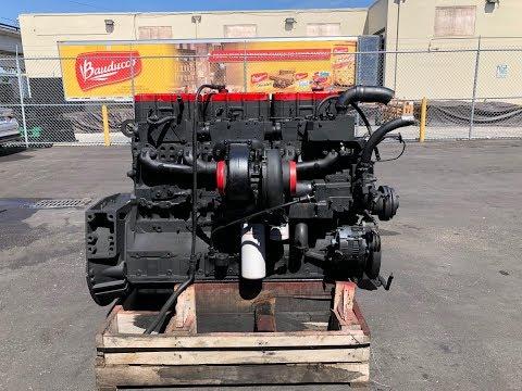 Cummins N14 Celect Diesel Engine Test Run For Sale