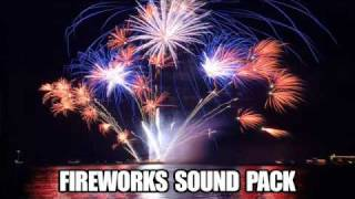 Repeat youtube video Fireworks Sound Effects - 30 Sound Pack