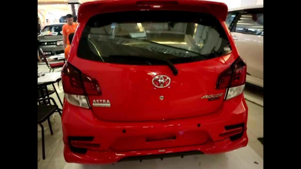 New Agya Trd Merah Grand Avanza 2019 Toyota S 2017 Red Colour Exterior And Interior Youtube