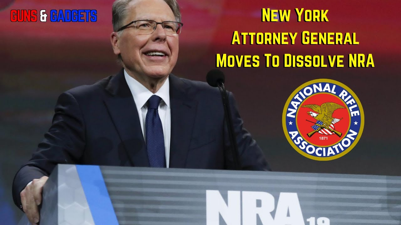 BREAKING NEWS: New York AG Moves To DISSOLVE NRA