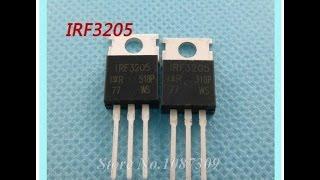 IRF3205 IRF3205PBF MOSFET 55 В 98A 8 мом. розпакування та перевірка