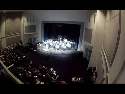 """Bon Lin Middle School Beginning Band performs """"Jingle Bell March"""""""