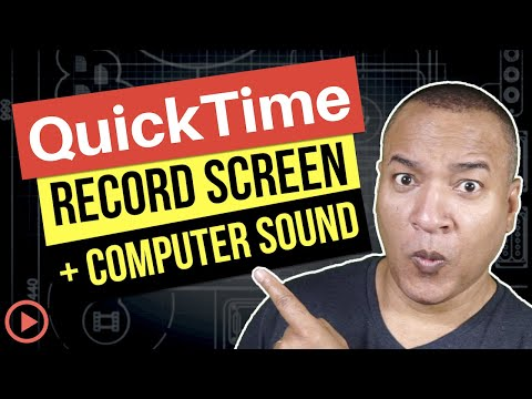 How To Record Computer Sound In QuickTime Screen Recordings (Mac)