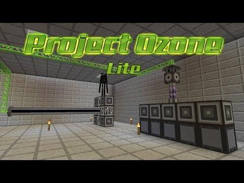 Project Ozone Lite - PROCESSORS & P2P [E19] (HermitCraft Server Modded Minecraft Sky Block)