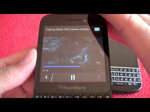 BlackBerry Q5 frente BlackBerry Q10, comparativa