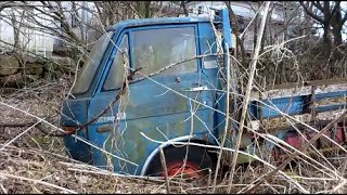 Junkyard old dump truck finds in japan|Abandoned Cars