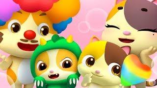 小貓咪一家 | 最新小貓咪兒歌童謠 | 家庭稱呼卡通 | 寶寶巴士 | 奇奇 | BabyBus