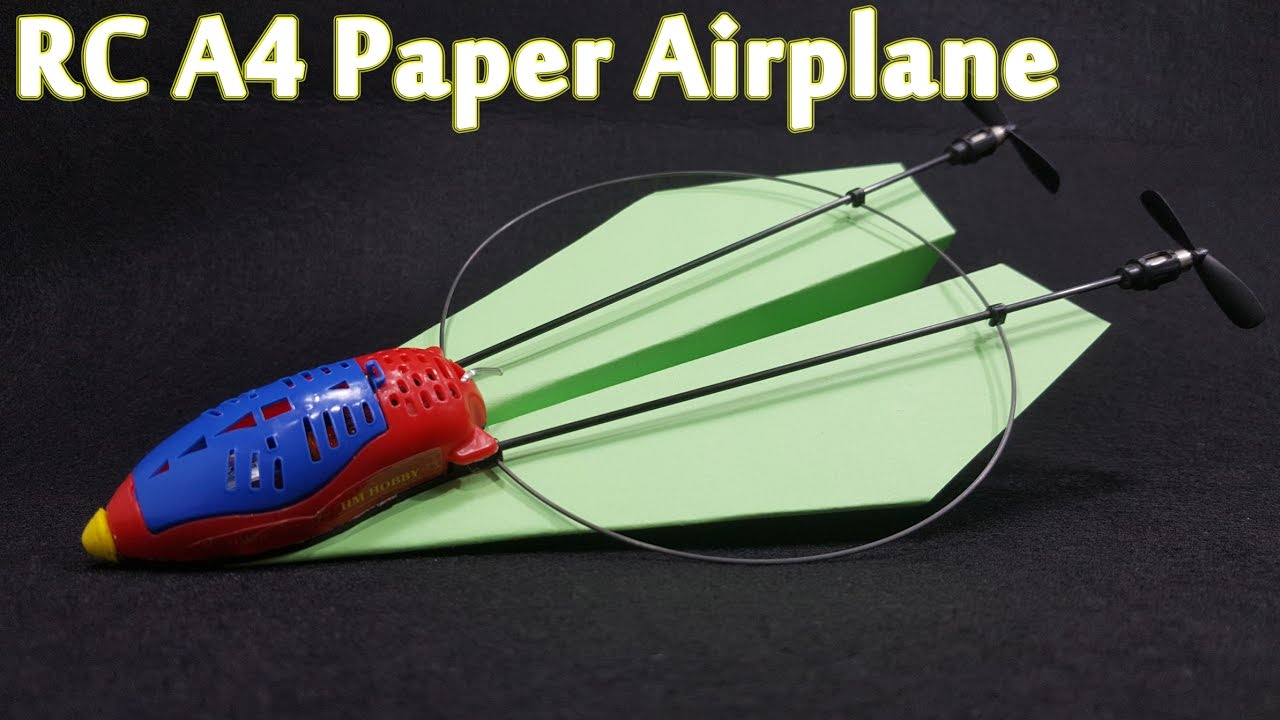 how to make paper plane a4