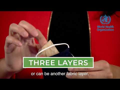 The three-layer fabric mask