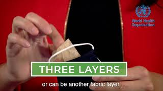 The three-layer fabric mask