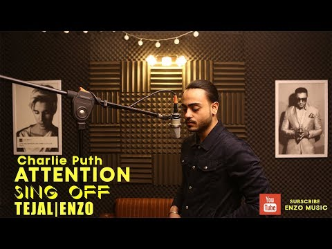Charlie Puth - Attention BOLLYWOOD SING OFF | ENZO & TEJAL