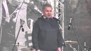 Министр обороны России Сергей Шойгу открыл «Гонку героев»