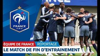 Equipe de France : L'opposition de fin d'entraînement I FFF 2018 thumbnail