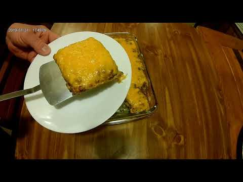 Tasty Beef And Rice Casserole