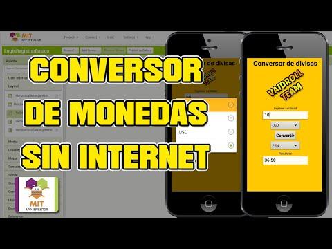 COMO CREAR UN CONVERSOR DE DIVISAS O MONEDAS - MIT App Inventor 2