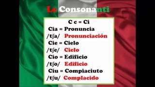 Italiano - Lección 1: Pronunciación