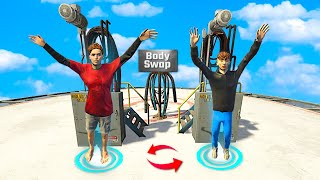 I Swapped BODIES With My Little Brother In GTA 5 RP..