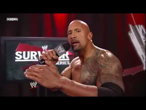 The Rock Says 'WWF' !! [HD]