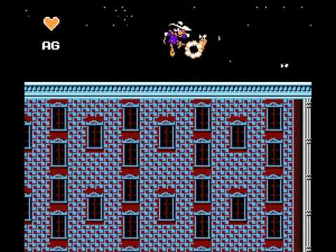 Darkwing Duck Hardcore Hack [NES] levels 1-3