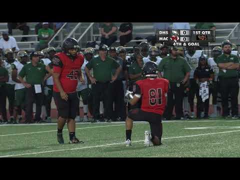 High School Football DeSoto vs MacArtrhur 10 05 17