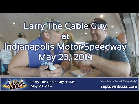 Larry the Cable Guy talks Cars 3 & Hip Dysplasia