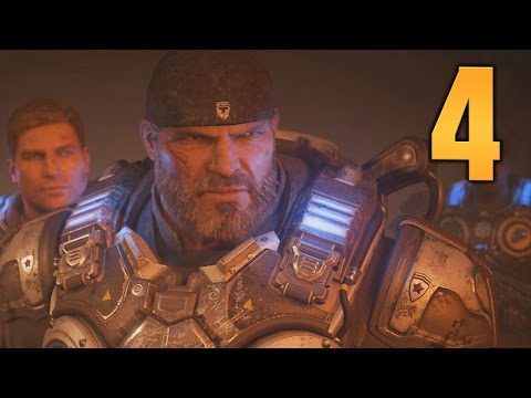 Gears of War 4 Co-Op Gameplay Walkthrough - Part 4 (ACT 2)