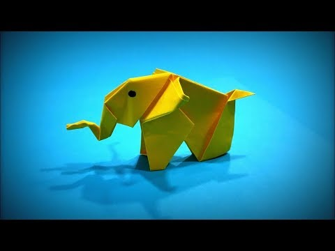 Origami Elephant | How to Make a Paper Elephant (Paper Mammoth) DIY - Easy Origami ART