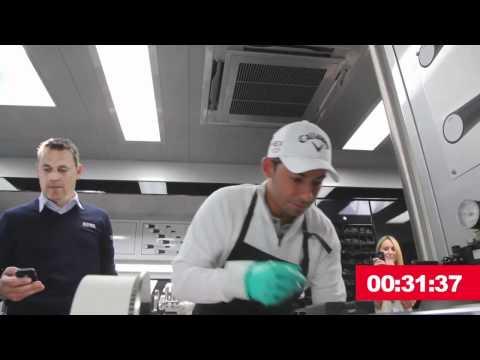 Pablo Larrazabal 2012 Callaway Grip Race Challenge