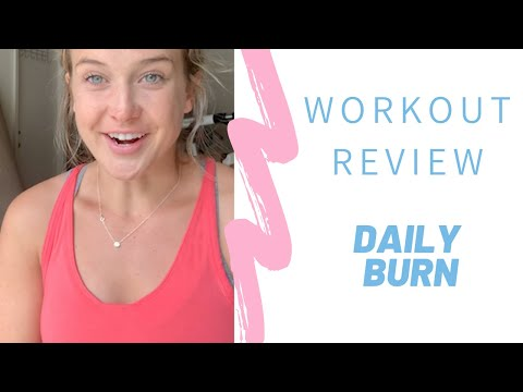 Workout Reviews: Daily Burn