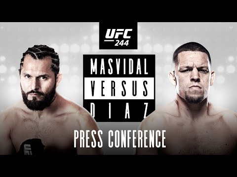 UFC 244: Press Conference