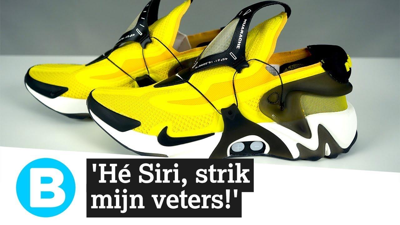 Zelfstrikkende Siri schoenen Nike razendsnel uitverkocht