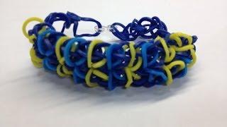 Bandaloom: How to make a Zippy Tie Bracelet